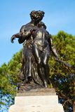 Famous bronze statues in Conegliano Veneto, Treviso, Italy Royalty Free Stock Photos