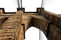 The famous Brooklyn Bridge Royalty Free Stock Images