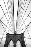 The famous Brooklyn Bridge Stock Image