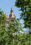 Famous building in Barcelona Royalty Free Stock Image