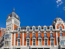 Famous building at Plaza Espana - Madrid Spain Stock Images