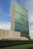 Famous building of United Nations Organization Stock Photography