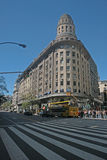 Famous buildings of Buenos Aires Royalty Free Stock Image