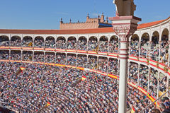 Famous bullfighting arena Royalty Free Stock Photography