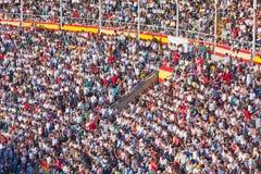 Famous bullfighting arena Stock Photo
