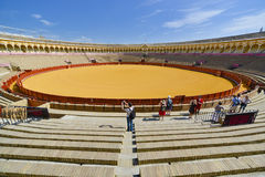 Famous bullring of seville spain Royalty Free Stock Photography