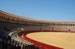 Famous bullring in Spain Royalty Free Stock Photo