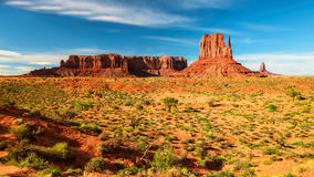 The famous Buttes of Monument Valley, Utah Royalty Free Stock Photography