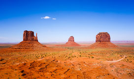 The famous Buttes of Monument Valley, Utah, USA Stock Photo