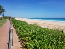 Cable Beach Broome Australian outback. Famous Cable Beach Broome Western Australia royalty free stock photo
