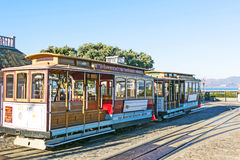 Famous Cable Car line Powell Royalty Free Stock Photo