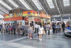 Famous cafe Osaka Japan Royalty Free Stock Photography