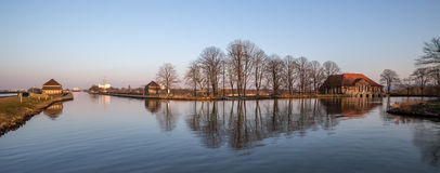 Famous canal crossing minden germany Stock Image