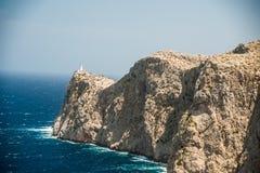 Famous Cap de Formentor, isola di Mallorca, Spagna Fotografia Stock