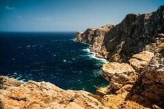 Famous Cap de Formentor, isola di Mallorca, Spagna Fotografie Stock Libere da Diritti