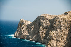 Famous Cap de Formentor, Mallorca island, Spain Stock Photography