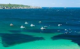 Famous Cape - pointe de Raz, France. Stock Image