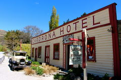 Famous Cardrona Hotel New Zealand Royalty Free Stock Photography