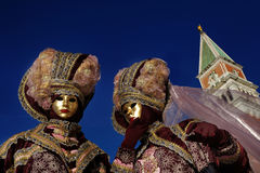 Famous Carnival in Venice royalty free stock photography