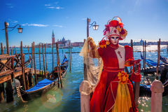 Famous carnival in Venice, Italy Royalty Free Stock Image