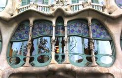 Casa Batllo. The famous Casa Batllo building in Barcelona Spain, November, 2012. This building was designed by Antoni Gaudi Stock Photos