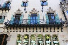 Famous casa Battlo building in Barcelona Royalty Free Stock Photos