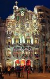 Famous Casa Battlo, on March 23, 2013 in Barcelona, Spain Stock Photography
