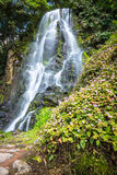 Famous cascade at Sao Miguel Island,Azores,Portugal Royalty Free Stock Image
