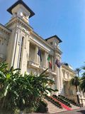 The famous casino municipale of sanremo stock image