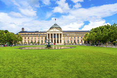 Famous casino in Wiesbaden Stock Photos