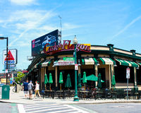 The Famous Cask n Flagon Bar, Boston, MA. The World Renowned Cask n Flagon across the street from Fenway Park, Boston, MA Royalty Free Stock Photography