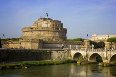 The famous Castel Sant`Angelo of Rome royalty free stock image