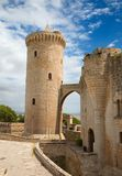 Castell de Bellver. Famous Castell de Bellver in Palma de Mallorca, Spain Royalty Free Stock Photography