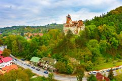 Count Dracula Castle. Romania Royalty Free Stock Photography
