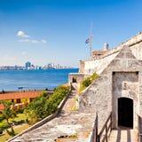 The famous castle of El Morro in Havana Stock Photo