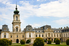 Famous castle in Keszthely Royalty Free Stock Photo