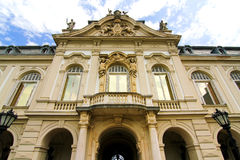 Famous castle in Keszthely Royalty Free Stock Image