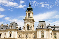 Famous castle in Keszthely Royalty Free Stock Photos