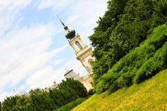 Famous castle in Keszthely Stock Images