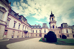 Famous castle in Keszthely Stock Image