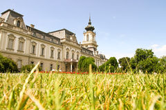 Famous castle in Keszthely. Hungary, Europe Stock Photography