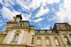 Famous castle in Keszthely. Hungary, Europe Stock Images