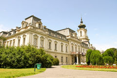 Famous castle in Keszthely. Hungary, Europe Royalty Free Stock Images