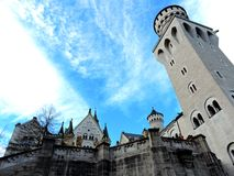 It`s worth knowing Neuschwanstein in Germany royalty free stock image