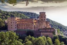Famous castle ruins, Heidelberg, Germany Stock Image