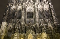 The famous cathedral of Cologne. (Kolner Dom Stock Photography