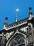 Famous cathedral or dome of Aachen in Germany royalty free stock photography