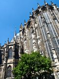 Famous cathedral or dome of Aachen in Germany royalty free stock photo