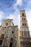 The famous cathedral in Florence, Italy. Royalty Free Stock Photo