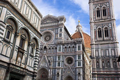 The famous cathedral in Florence, Italy. Royalty Free Stock Image
